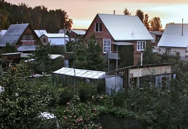 Построенные в советское время дачи могут быть узаконены