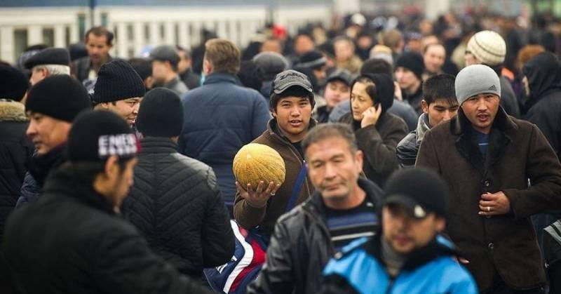 В РФ могут вернуться до 1 миллиона трудовых мигрантов