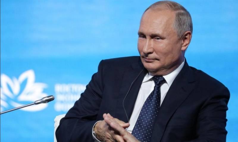 Какой доход у Владимира Путина за 2020 год
