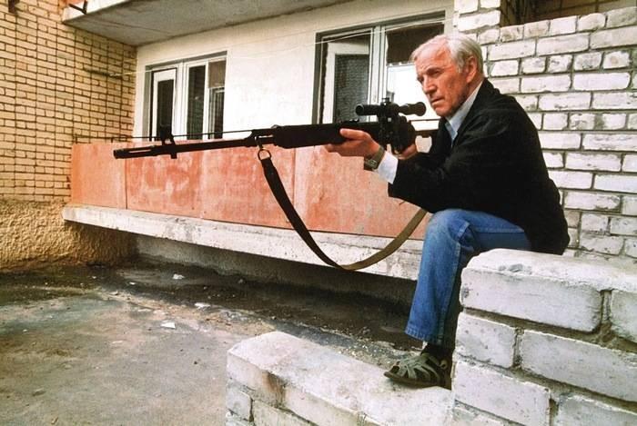 Есть ли у народного мстителя из «Ворошиловского стрелка» реальный прототип?