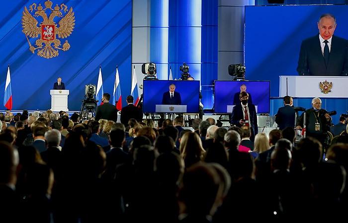 Основные тезисы Послания Владимира Путина Федеральному собранию