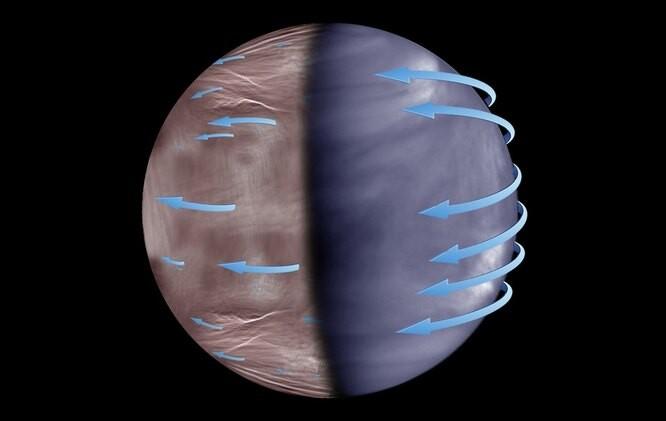 На ночной стороне Венеры обнаружены аномальные явления