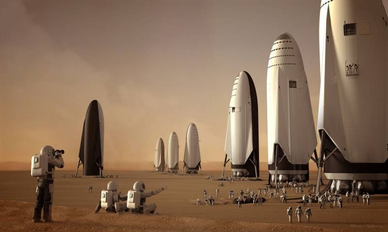 Маск заявил, что миссия на Марс состоится в ближайшем будущем