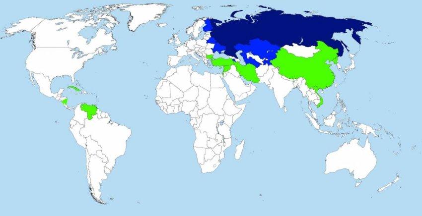 Какие страны готовы поддержать Россию в случае войны
