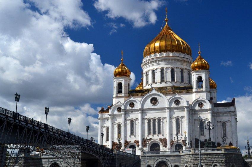 Пасхальное богослужение из храма Христа Спасителя в 2021 году будут транслировать по телевидению