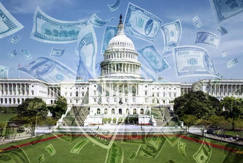 Американский госдолг, по состоянию на июнь 2021 года, продолжает расти