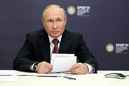 Президент России Владимир Путин дал откровенное интервью «России 1» 9 июня 2021 года