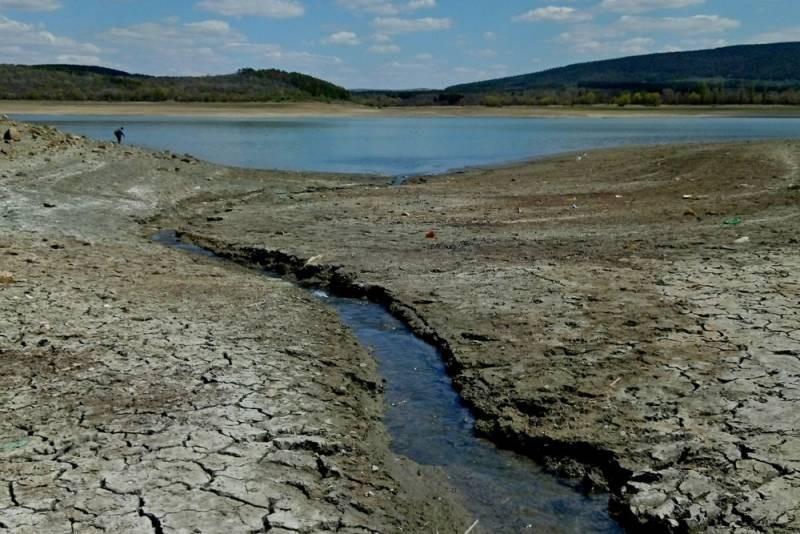 Как наполнились крымские водохранилища после дождей