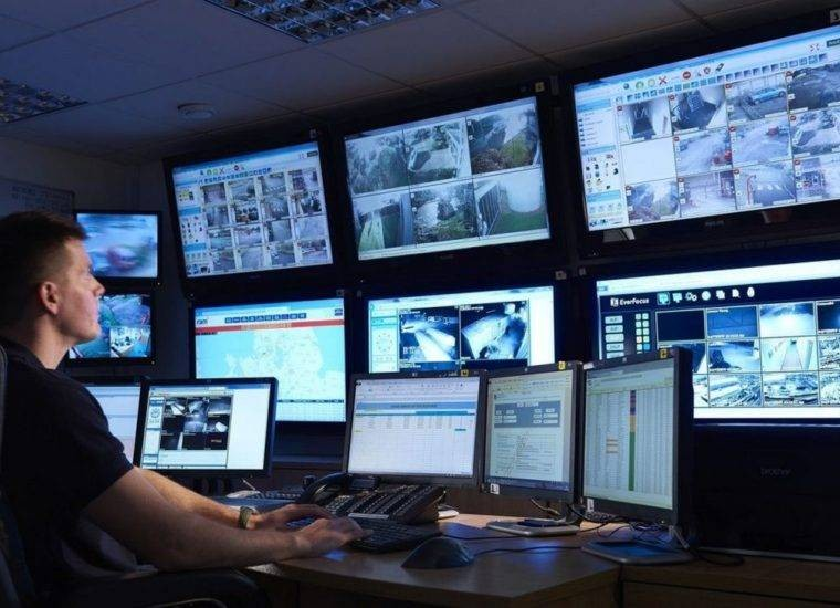 Как работает усиленная система видеонаблюдения в России
