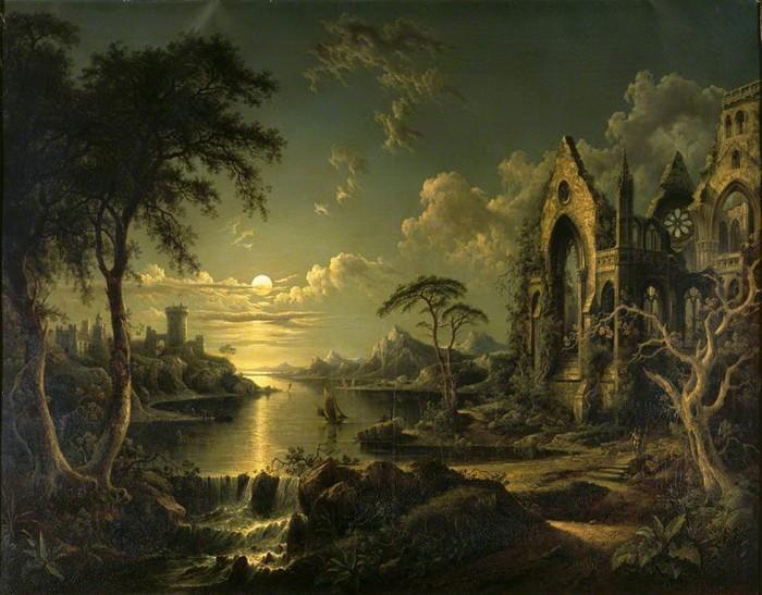 Секрет развалин на картинах художников