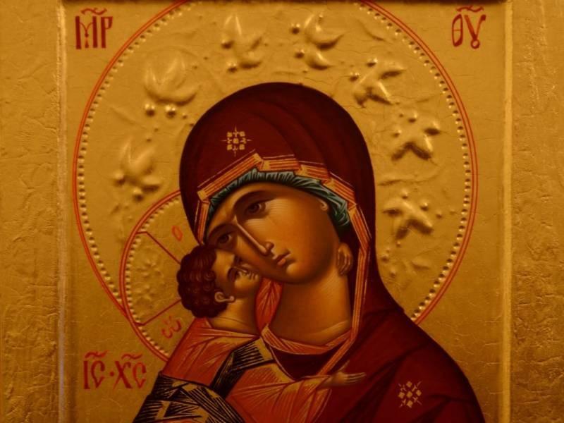 В церкви празднование в честь Владимирской иконы Божией Матери проводится 6 июля 2021 года