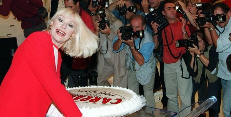 Ушла из жизни итальянская певица и ведущая Рафаэлла Карра