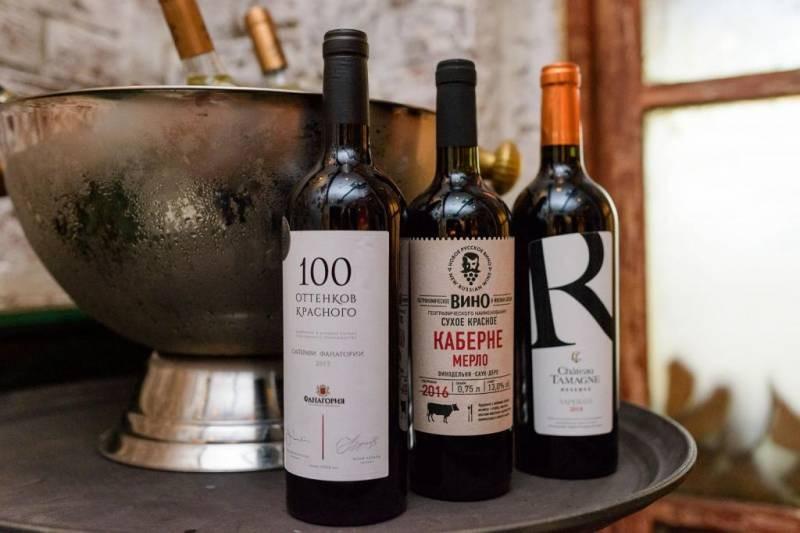 В России планируют поднять цены на вина отечественного производства