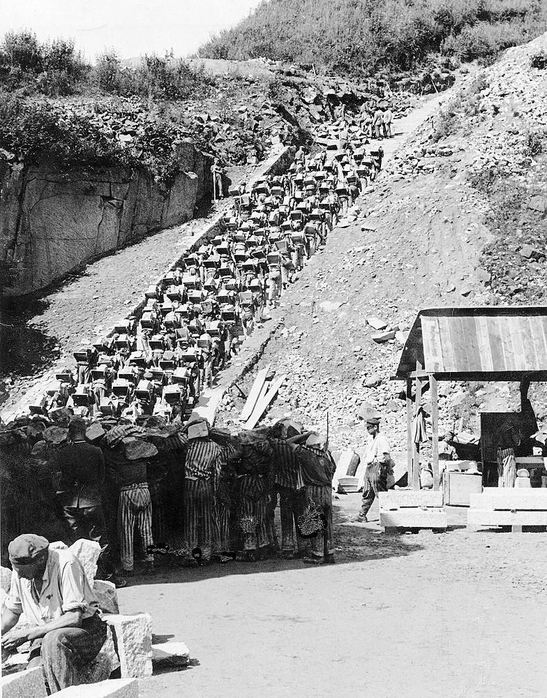 Маутхаузен: лестница смерти