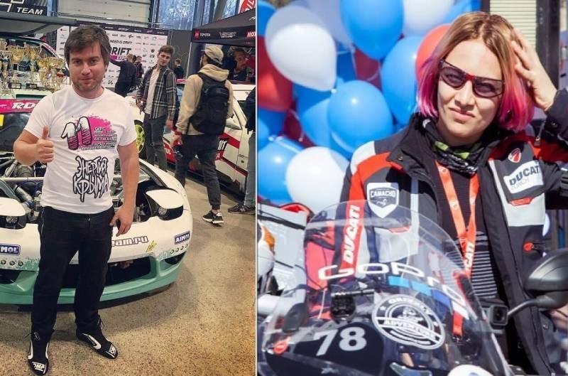 Иван Куренбин и мотогонщица Татьяна Игушина совершили свой последний скоростной заезд