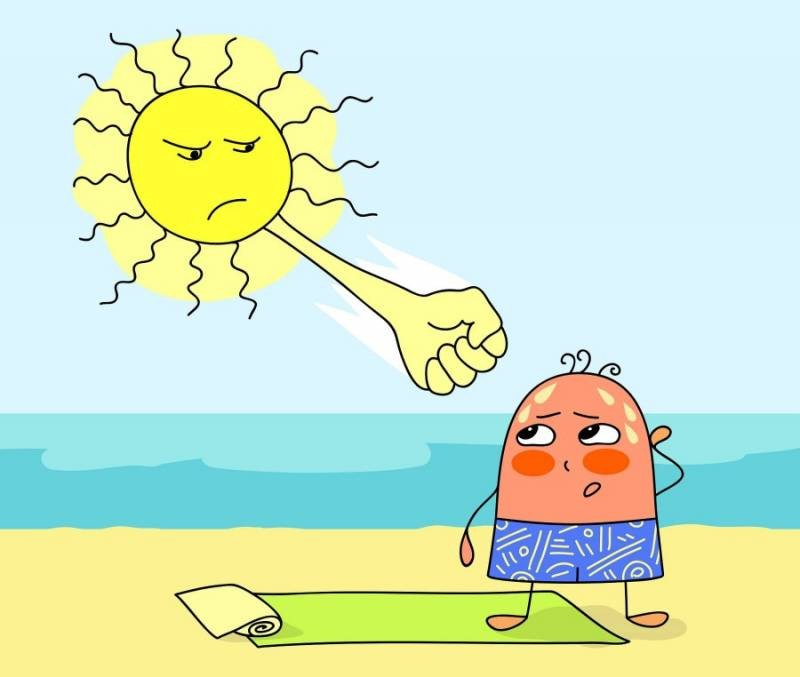 Какие симптомы бывают у теплового удара