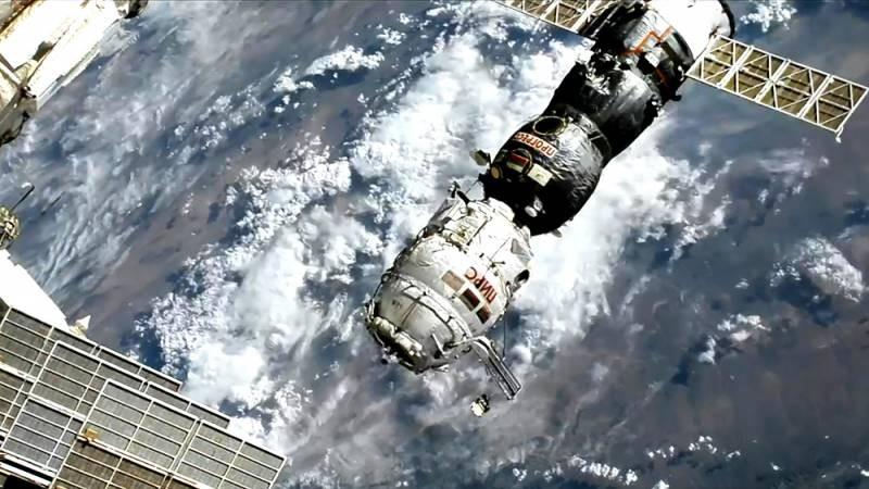 Модуль «Пирс» отстыкован от МКС и затоплен в Тихом океане