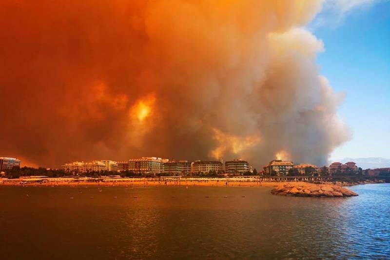 Пожары в Турции: как развиваются события и какая обстановка в данный момент