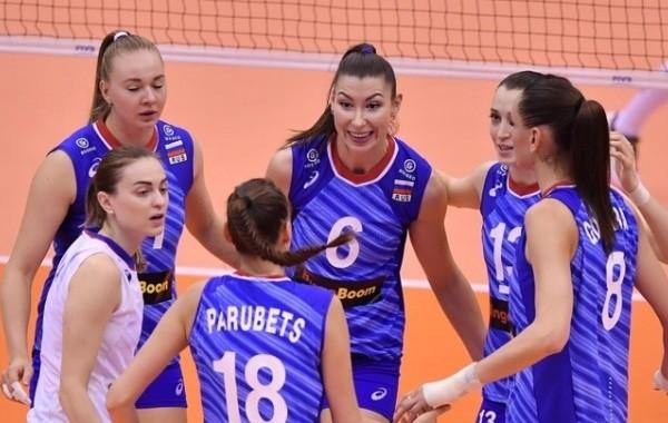 Российские волейболистки вышли в плей-офф Олимпиады в Токио, обыграв США