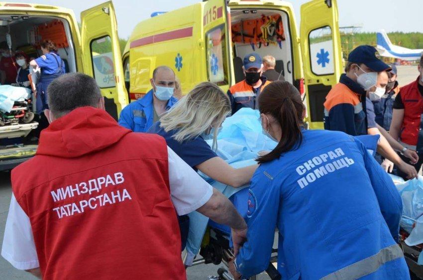 Появились новые данные о состоянии раненых в результате теракта детей в Казани