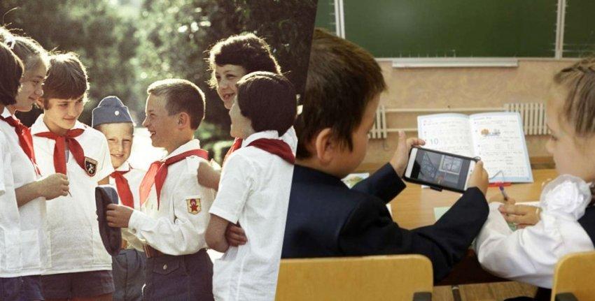 Учитель сравнил советских школьников с современными