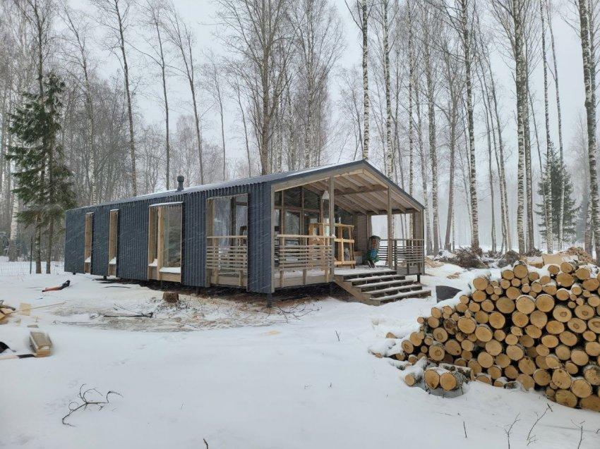 Индивидуальные планировки в модульных домах Heim project
