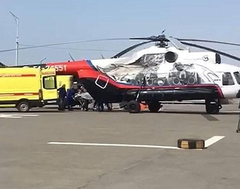 Что произошло с туристическим вертолетом на Камчатке 12 августа 2021 года