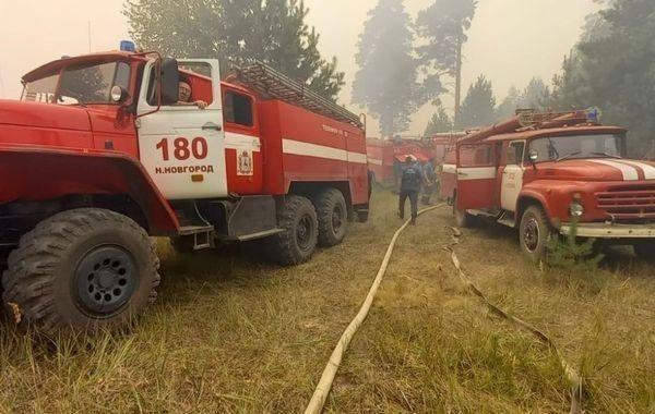 В Нижегородской области и Мордовии ввели межрегиональный режим ЧС из-за пожаров