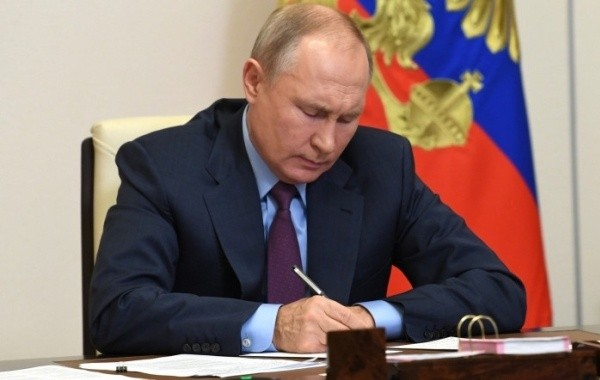 Путин подписал указ о единовременной выплате военным и силовикам